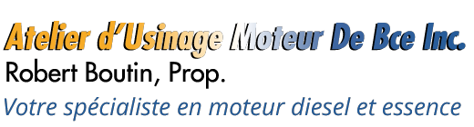 Atelier d'Usinage Moteur De Bce Inc.